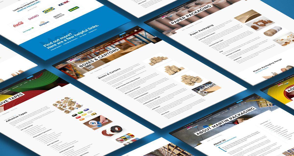 Martin Packaging New Website Launch
